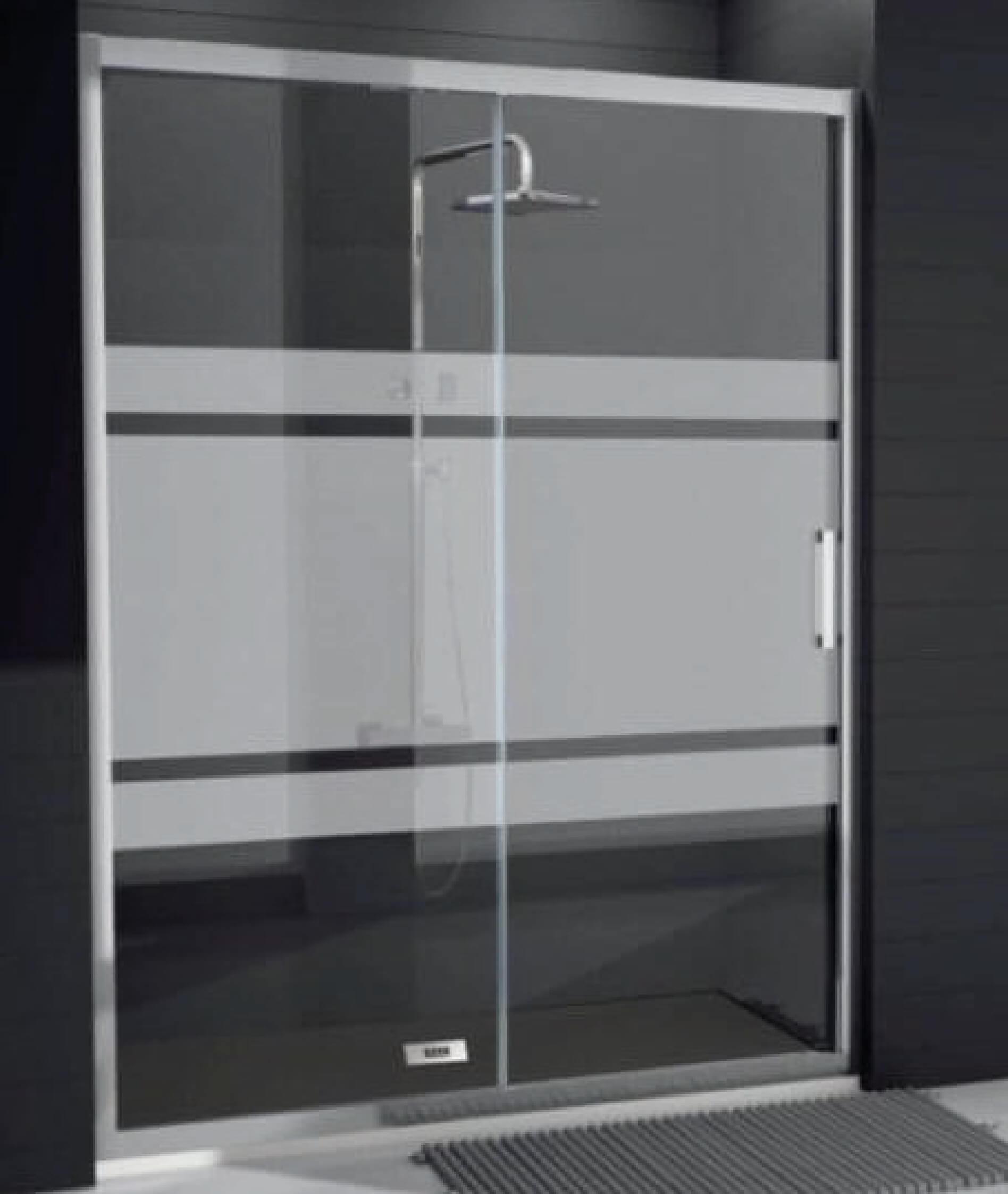 Puerta mampara de vidrio hidrotor - Mampara de vidrio ...